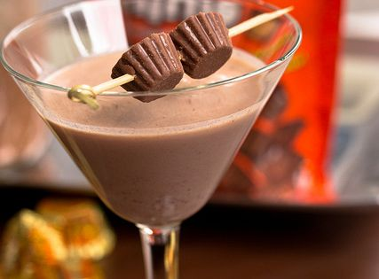 Reeses Peanut Butter Cup Martini (I'll skip the vodka and just have
