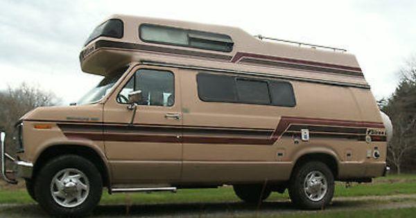 1986 Ford E250 Falcon High Top Camper Van Class B Sold In America