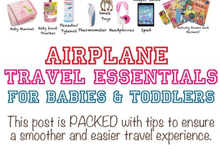 tips travel overseas with babies kids
