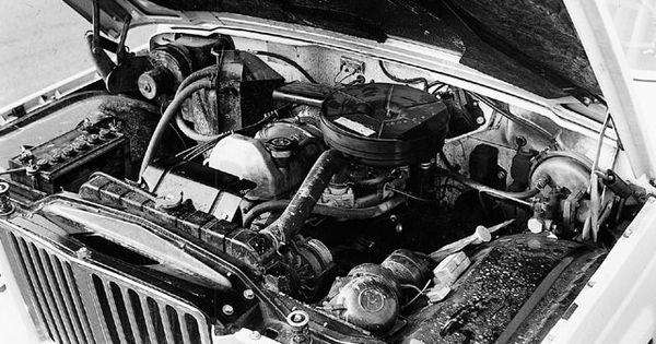 1963 Jeep Wagoneer Engine Bay Jeep Wagoneer Jeep Willys Jeep