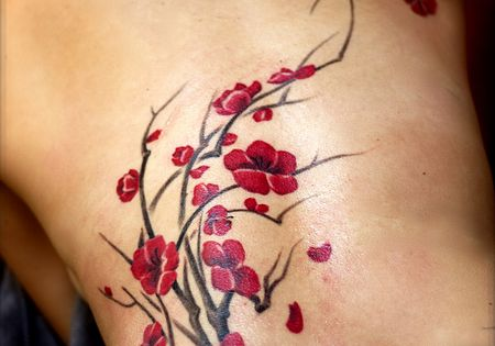 roughcutpaper: Floral Tattoos Three: Remarkable Drawings