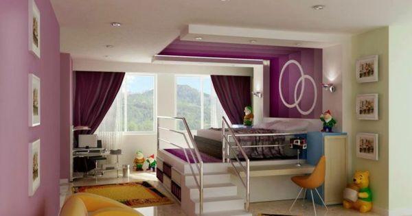 125 gro artige ideen zur kinderzimmergestaltung interior. Black Bedroom Furniture Sets. Home Design Ideas