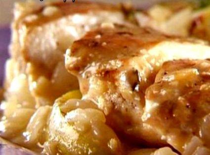 Apple cider chicken breast