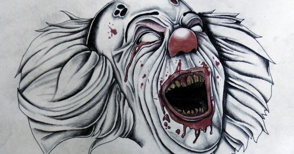 how to draw horror movie characters   Drawings ...
