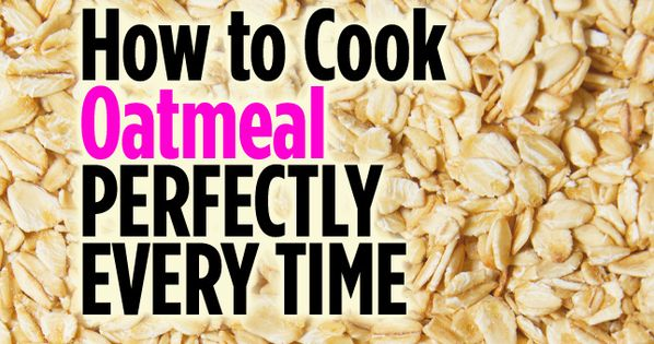 How to Cook Oatmeal Perfectly Every Time on stove, rice cooker, slow