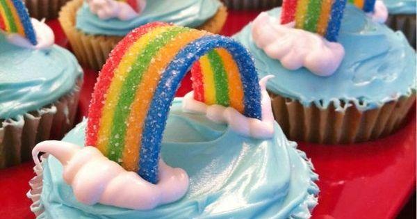 Rainbow cupcake- Airhead