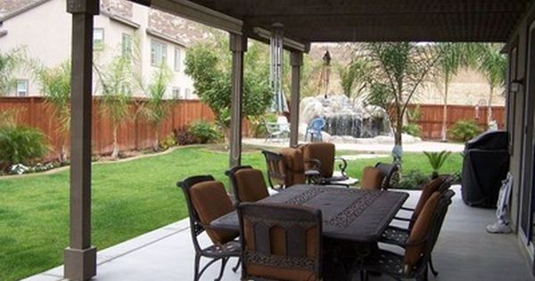 Back Patio Ideas covered back porch designs | backyard design ideas | for the home