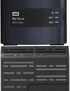 Network Attached Storage 106273 Wd My Cloud Ex2 Ultra 0tb 2 Bay External Network St Network Attached Storage Portable External Hard Drive Cool Things To Buy