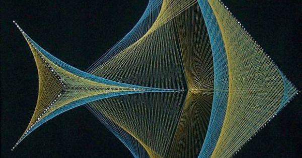 Gallerix string art for Fish string art