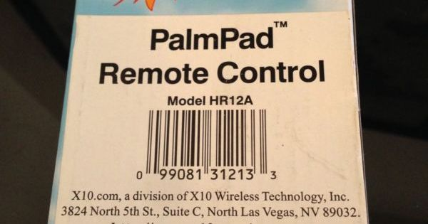 Home automation remote control model hr12a