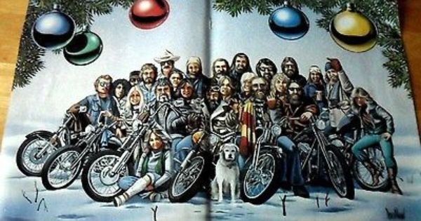 David Mann Posters {Easyriders Magazine} lot of 34 in fair to good shape