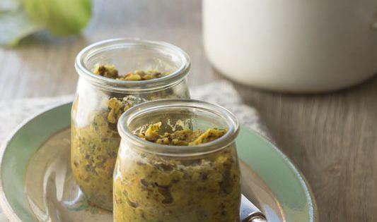 p t de lentilles corail graines de tournesol recette vegan au vert avec lili hyper. Black Bedroom Furniture Sets. Home Design Ideas