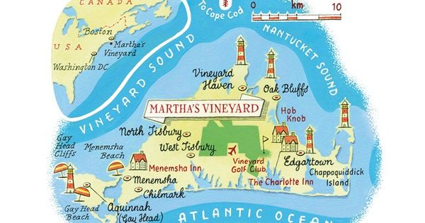 The best hotels, restaurants, bars, shops and beaches in Martha's Vineyard, New