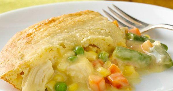 Impossibly Easy Chicken Pot Pie | Recipe | Pot Pies, Chicken Pot Pies ...