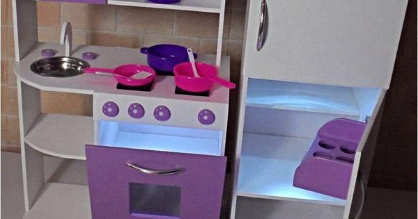 Muebles infantiles rincon casita infantil cocina de - Muebles para juguetes infantiles ...