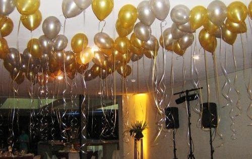 decoracion con globos para bodas de oro , Buscar con Google