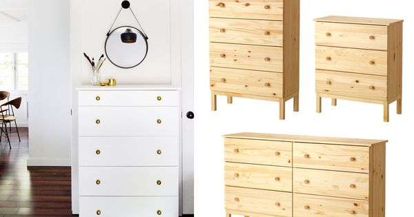 ikeahack commode tarva diy ikea hacking pinterest boutons de tiroir ikea et commodes. Black Bedroom Furniture Sets. Home Design Ideas