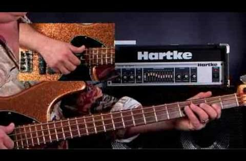 how to play funk bass solo