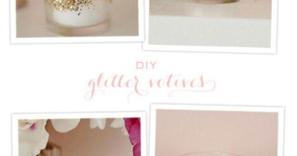 40 Diy Home Decor Ideas That Aren 39 T Just For Christmas Velas Boda Civil Y Frascos Decorados