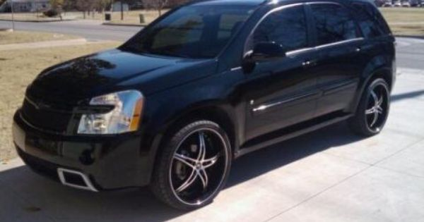 chevy equinox sport rims customer vehicle picture i love my toys pinterest vehicle. Black Bedroom Furniture Sets. Home Design Ideas