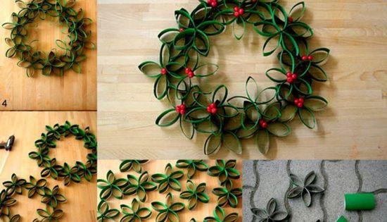 Coronas de navidad originales para nuestras puertas - Adornos de navidad originales ...