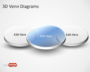 Free 3d Venn Diagram Template For Powerpoint Free Powerpoint