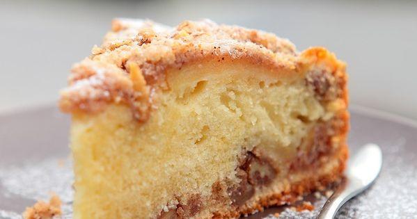 crumble cake aux pommes noix et cannelle rdv aux. Black Bedroom Furniture Sets. Home Design Ideas