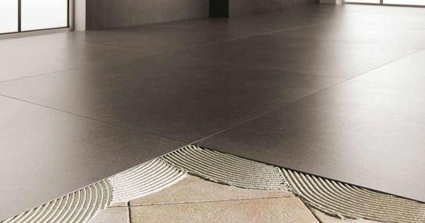 extrem gro e d nne fliesen kerlite laminam porzellankeramik floor ideas pinterest. Black Bedroom Furniture Sets. Home Design Ideas