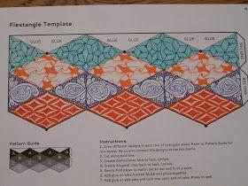 Tangling For Fun Flextangles And Tri Hexaflexagon Grandma