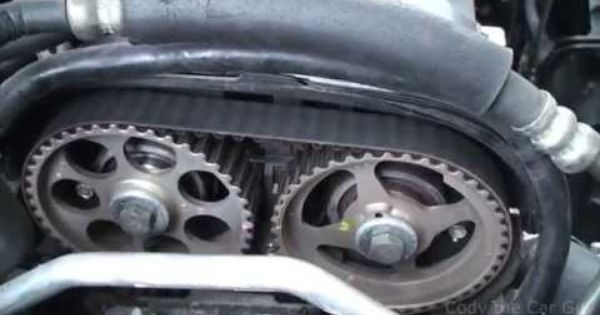 Chevy Aveo Timing Belt Part 2 Youtube Chevy Timing Belt Engineering