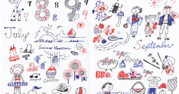 3色ボールペンで描く 乙女の手帳イラストレシピ 編集部blog 年賀状