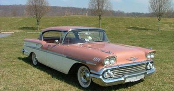 Classic 1958 Chevrolet Bel Air 4 Door Hardtop Klasik Arabalar Klasik Arabalar