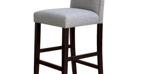 Kitchen Counter Camelot Nailhead Barstool Milford Dove