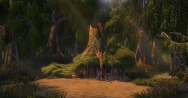 Shreks House Shrek Dreamworks Animation Landscape