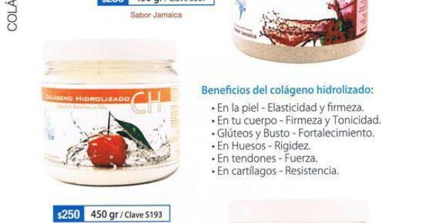 Colageno hidrolizado de sabores shelo nabel pinterest colageno hidrolizado vida sana y - Alimentos con colageno hidrolizado ...
