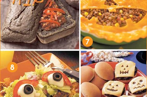 Monster taco salad anyone!? Creative Halloween Dinner Ideas