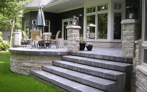find this pin and more on garden ideas wicked old school raised patio klassen concrete - Raised Concrete Patio Ideas
