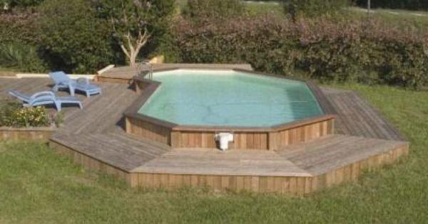 terrasse douglas1 construire une plage de piscine en bois. Black Bedroom Furniture Sets. Home Design Ideas