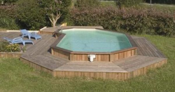 Terrasse douglas1 construire une plage de piscine en bois - Construire une piscine en bois ...