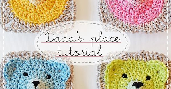 Crochet carres autres modeles granny le blog de mes loisirs crochet pinterest - Carre crochet pour couverture bebe ...