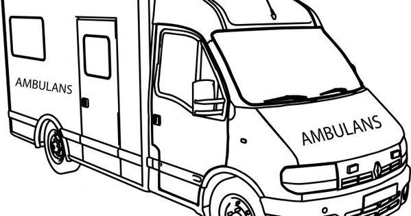Okul Oncesi Ambulans Boyama Sayfasi Boyama Sayfasi Ciktisi Al Ambulans Boyama Resmi Sayfasi Kara Tasitlari Boyama Sayfasi Yazici Y Ambulans Okul Oncesi Okul