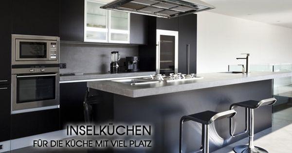 insel küchen online günstig kaufen,  | mobello.de | kitchen, Wohnzimmer design