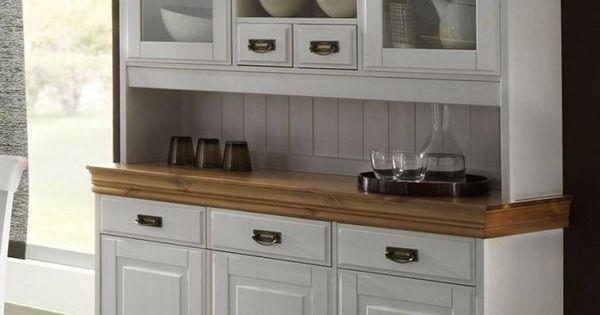 massivholz buffetschrank buffet k chenbuffet landhaus kiefer massiv wei honig search buffet. Black Bedroom Furniture Sets. Home Design Ideas