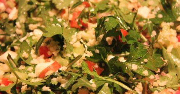 bulgursalat mit rucola frischen kr utern und gem se salat rezepte pinterest thermomix. Black Bedroom Furniture Sets. Home Design Ideas