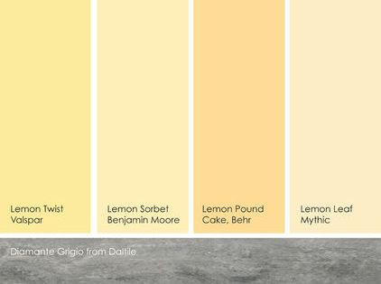 Suggested Yellow Paint For The Home Pinterest Lemon