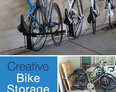 Creative Bike Storage Storage And Tutorials