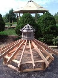 Image Result For Free Octagon Gazebo Roof Plans 정원 아이디어