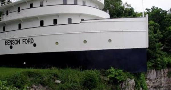 The House On Boat Located In South Bass Island Ohio U S Is Bow