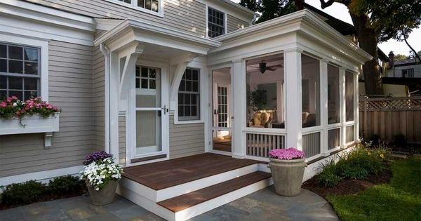 Front Porch Ideas Brick Ranch Renovations Pinterest