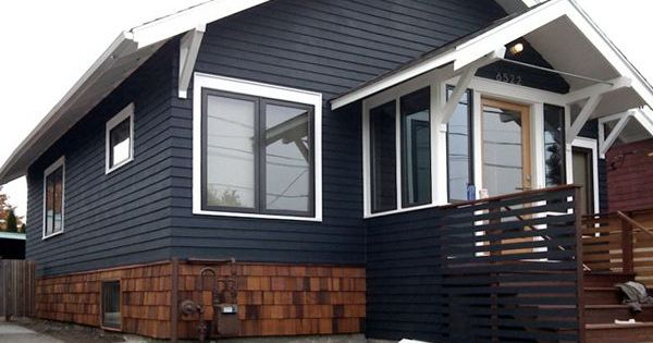Dark Blue Shake Vinyl Siding Google Search Bi Level